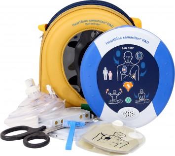 Defibrillator mit austauschbarer Kassette für Erwachsene oder Kinder
