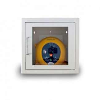 Wandkasten für Defibrillatoren aus Metall für innen