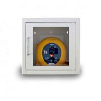 Wandkasten für Defibrillatoren aus Metall mit Alarm für innen