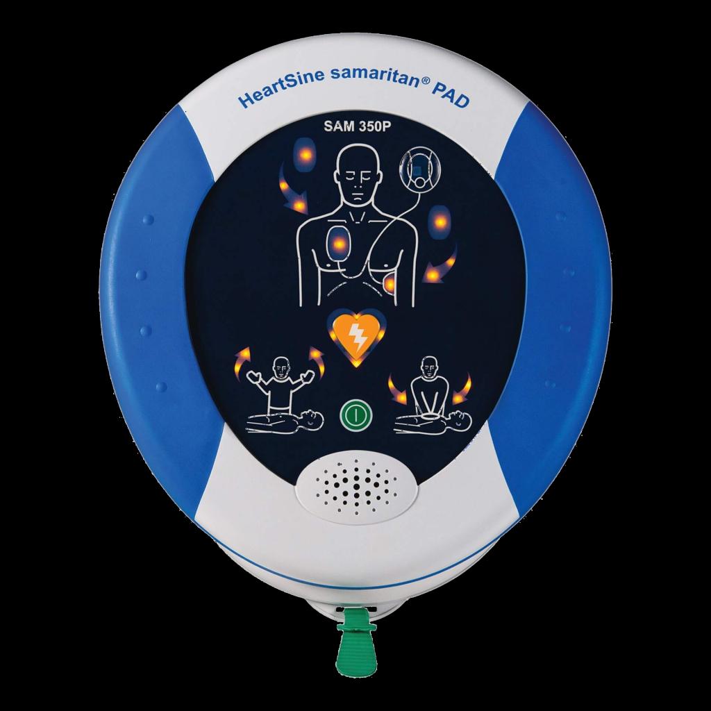 Defibrillator - Produktabbildung der Firma HeartSine