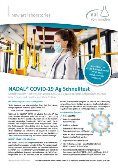 COVID-19-Antigen-Schnelltest von NADAL - Anzeige 1