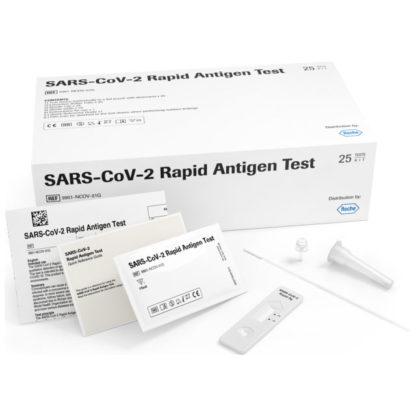 Covid-19-Antigen-Schnelltest von ROCHE - Lieferumfang