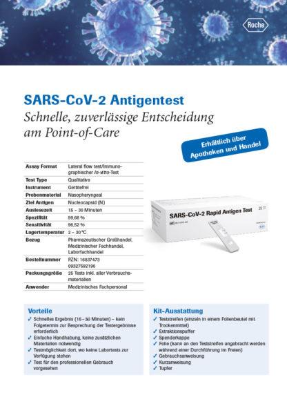 Covid-19-Antigen-Schnelltest von ROCHE - Anzeigenblatt 1